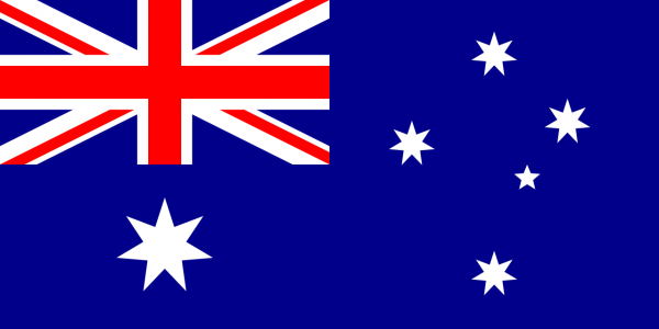 Types and variants of Australian flags for sale