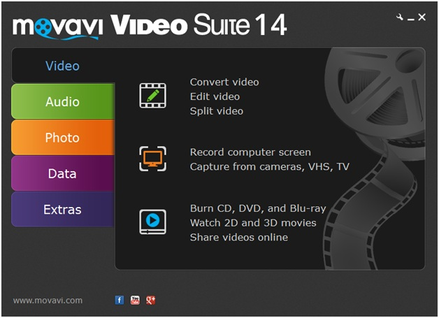 Movavi video suite 2